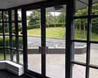 Glass-aluminium entrance system image