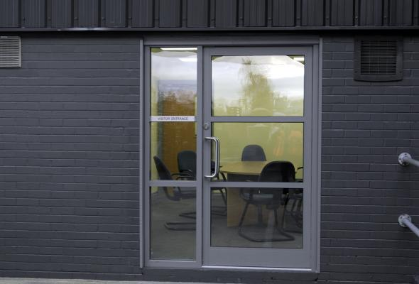 Glass-Aluminium Entrance Systems